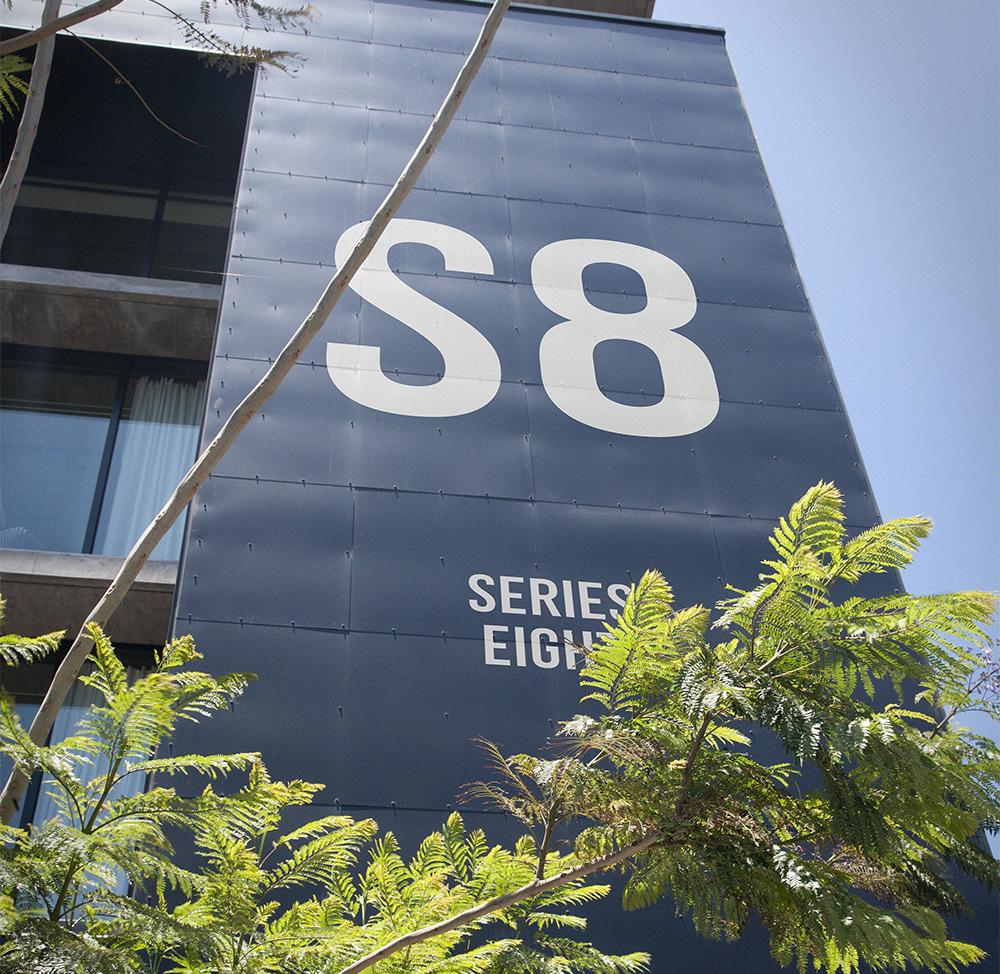 Series Eight Branding